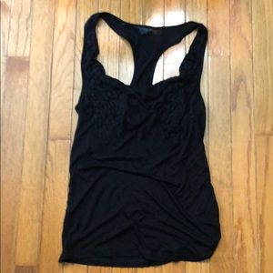 Black Guess Tank- New w/out tags